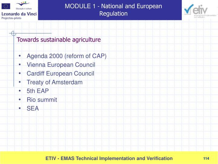 Agenda 2000 (reform of CAP)