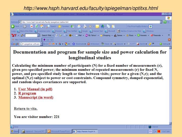 http://www.hsph.harvard.edu/faculty/spiegelman/optitxs.html
