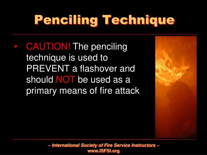 Penciling Technique