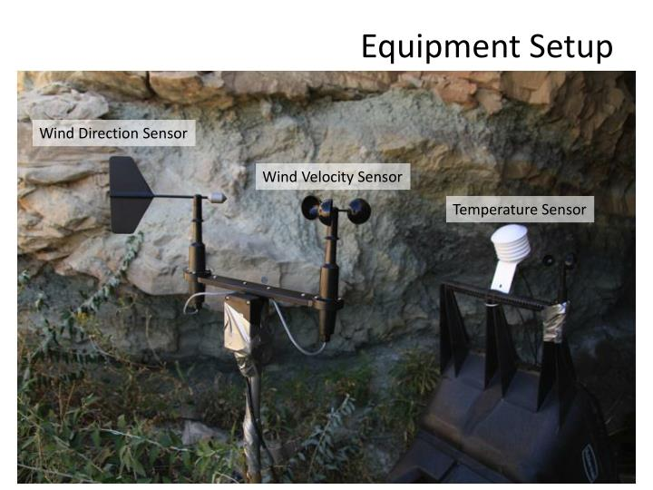 Equipment Setup