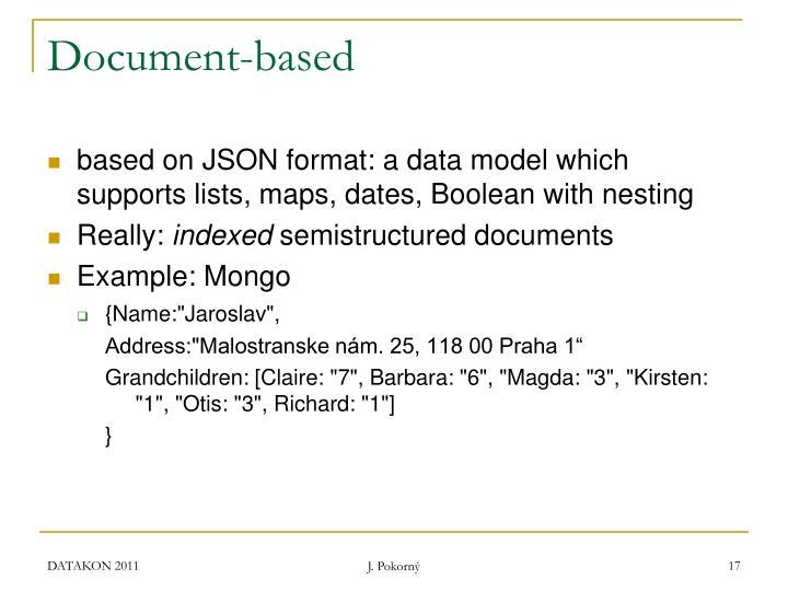 Document-based