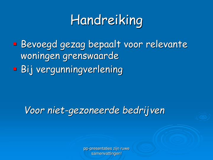 Handreiking
