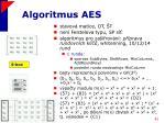 algoritmus aes