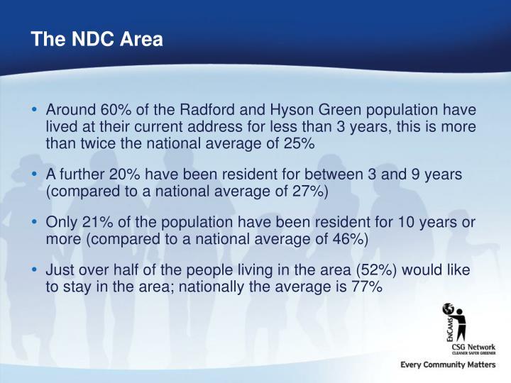 The NDC Area