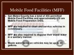 mobile food facilities mff