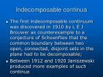 indecomposable continua