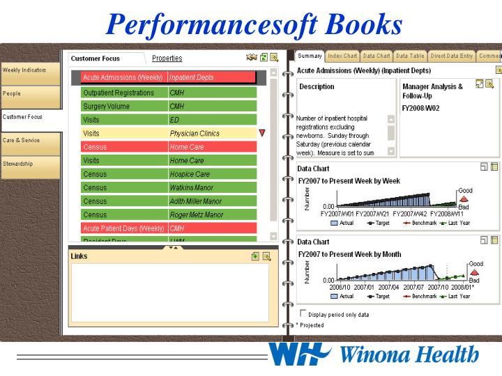 Performancesoft Books
