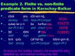 example 2 finite vs non finite predicate form in karachay balkar1