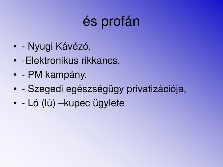 S prof n