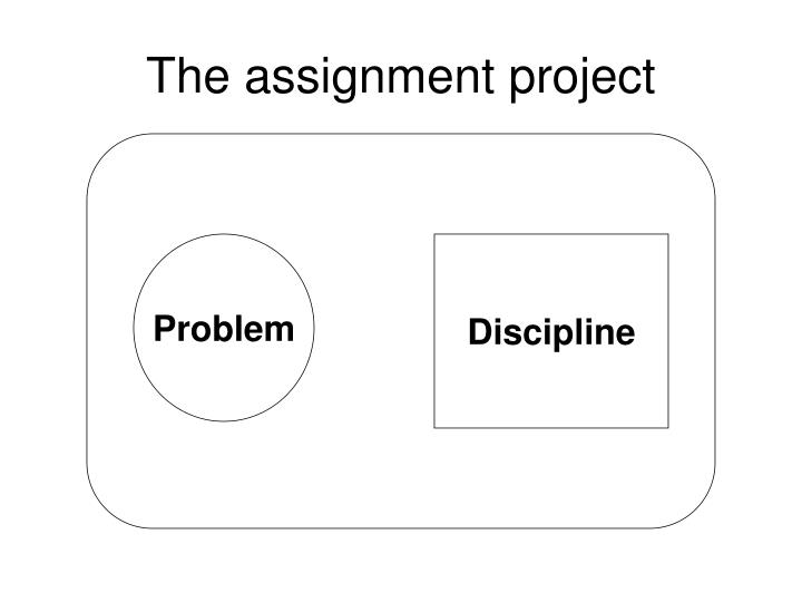 The assignment project