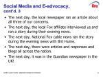 social media and e advocacy cont d 3