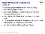 social media and e advocacy cont d 4