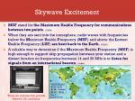 skywave excitement3