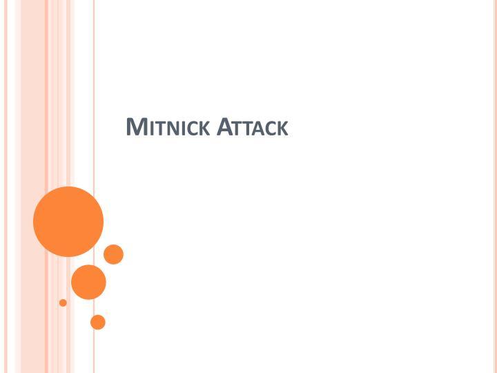 Mitnick attack