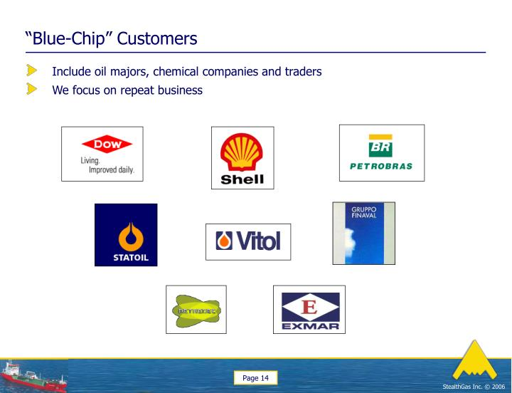 """""""Blue-Chip"""" Customers"""