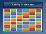 elearning for health elfh2