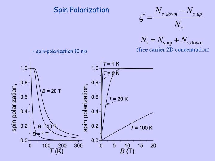 Spin Polarization