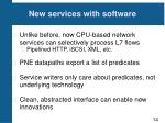new services with software