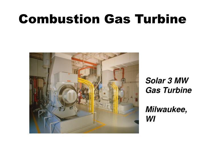 Combustion Gas Turbine