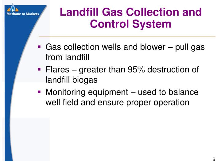 Landfill Gas Collection and Control System