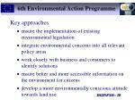 6th environmental action programme