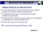 heaven workshop