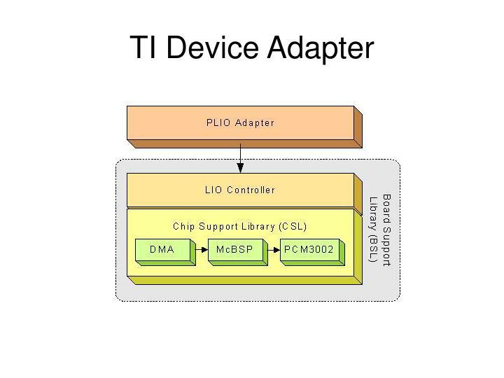 TI Device Adapter