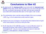 conclusions to fiber 2