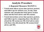 analytic procedure