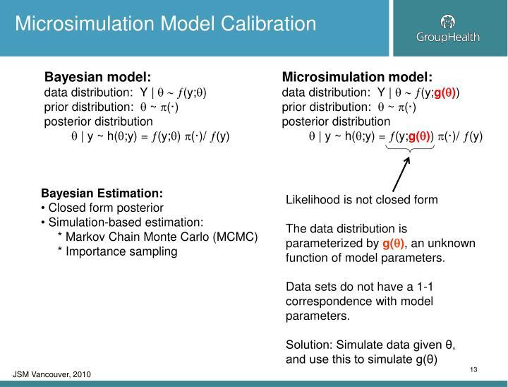 Bayesian model: