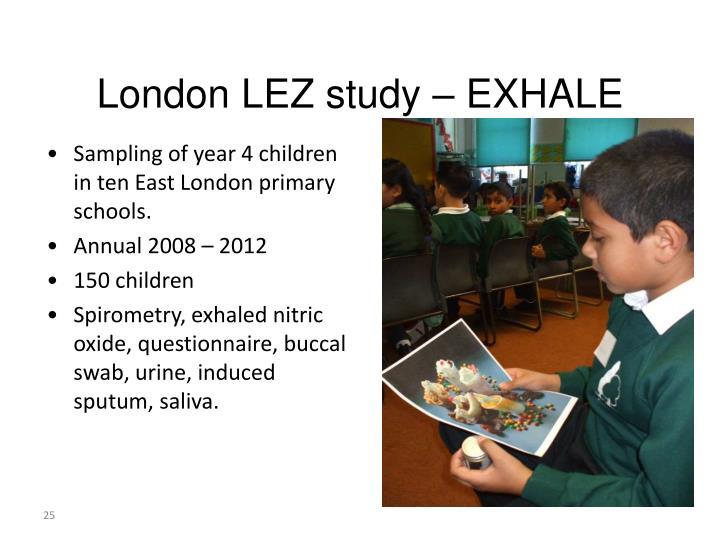 London LEZ study –