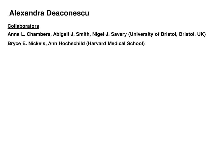 Alexandra Deaconescu