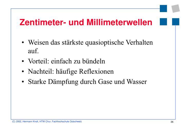 Zentimeter- und Millimeterwellen