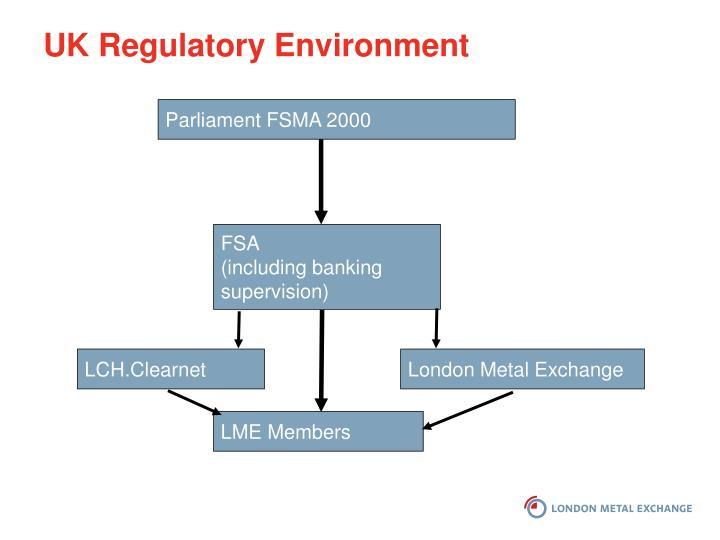 UK Regulatory Environment