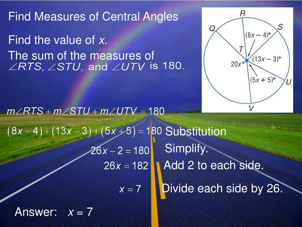 PPT - 10-2 Measuring Angles and Arcs PowerPoint ...
