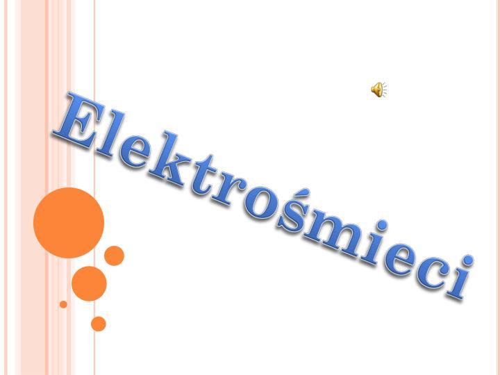 Elektrośmieci