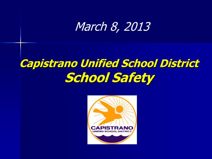 capistrano unified school district school safety n.