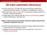 la ricerca di informazioni in internet12