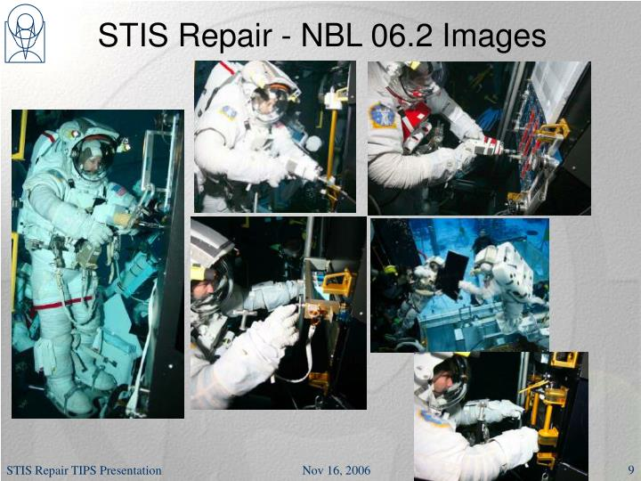 STIS Repair - NBL 06.2 Images