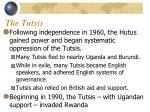 the tutsis