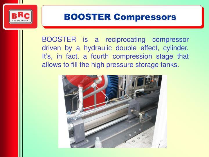 BOOSTER Compressors