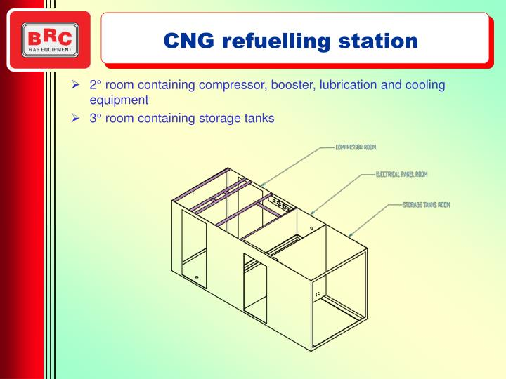 CNG refuelling station