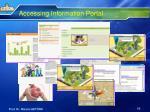 accessing information portal3