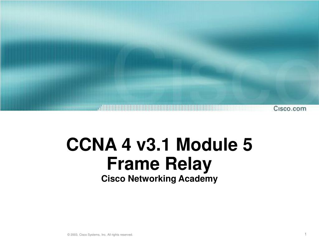 Ch. 5 – frame relay (ccna 4). Ppt download.