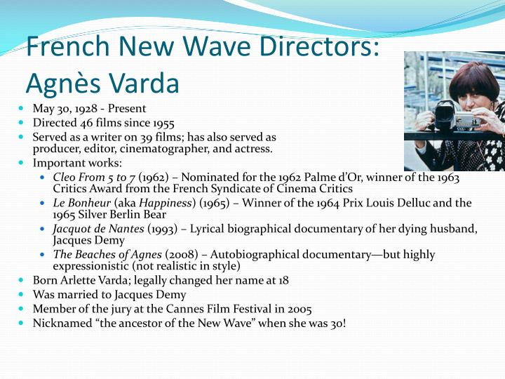 French New Wave Directors: