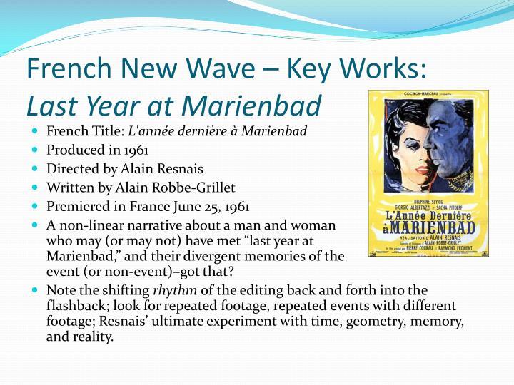 French New Wave – Key Works:
