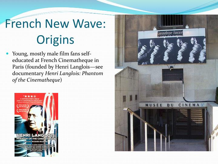 French new wave origins1