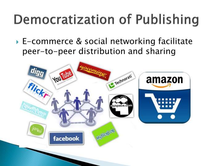 Democratization of publishing1