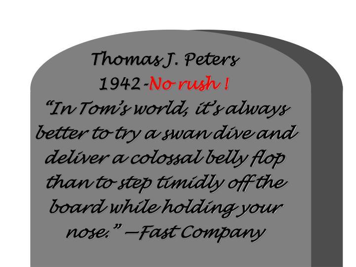 Thomas J. Peters