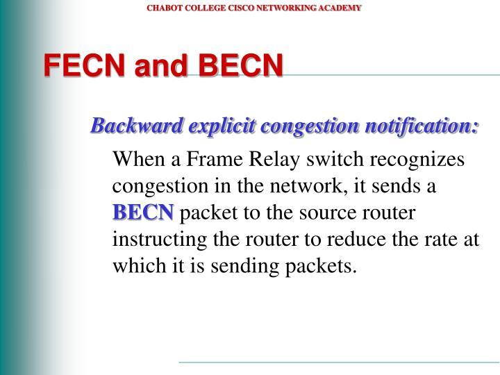 FECN and BECN